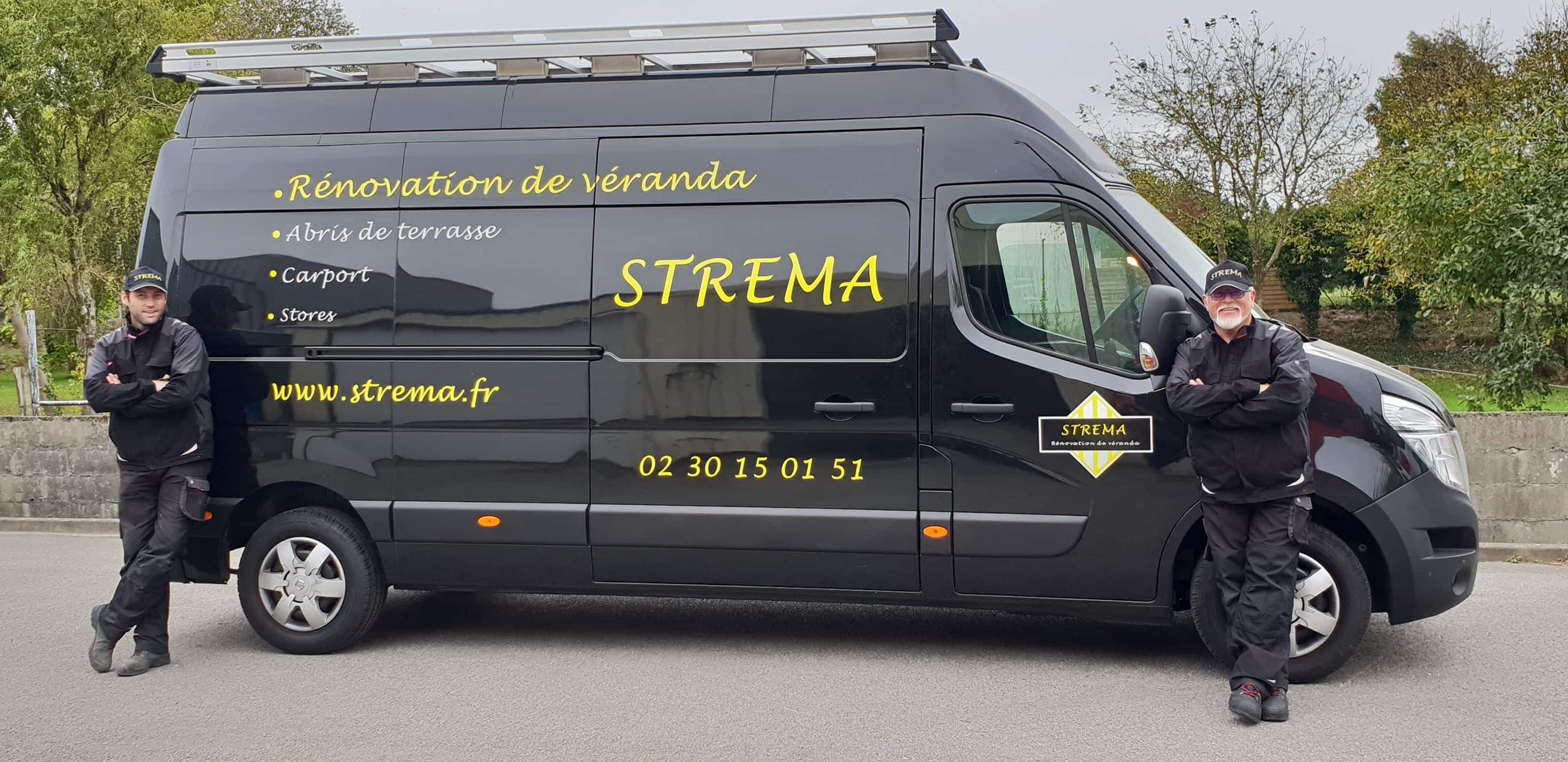 Camion strema